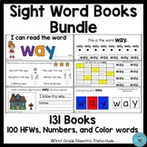 High Frequency Words Books BUNDLE