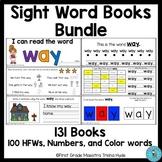 Sight Word Books BUNDLE