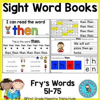 Sight Word Books Set 3