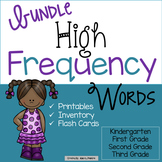 High Frequency Words Bundle K-3