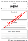 High Frequency Words Center: Read it, Build it, Write it, and Use it (Spanish)