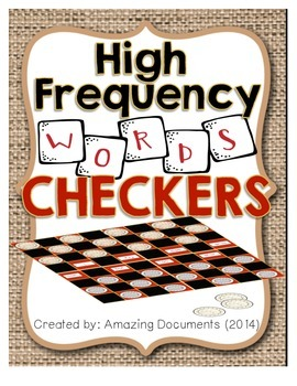 High Frequency Words - Checkers