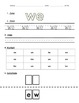 High Frequency Words- Color, Trace, Write, Cut & Paste: Reading Street Unit R