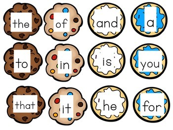 Sight Words: Cookie Monster Game!