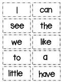 High Frequency Words Flash Cards Wonders Kindergarten Reading Series