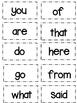 High Frequency Words Flash Cards Wonders Kindergarten Read