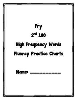 High Frequency Words Fluency #2