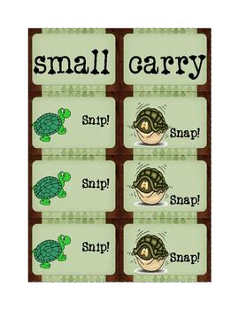High-Frequency Words Game: Snip! Snap! 8