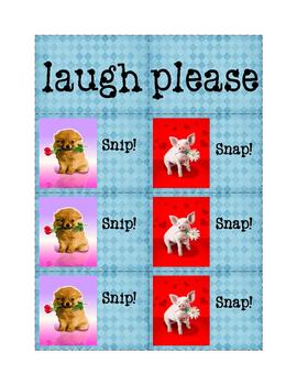 High-Frequency Words Game: Snip! Snap! 9