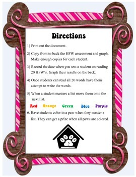 High Frequency Words (List 2)