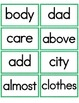 High Frequency Words (Literacy First) List C Word Cards
