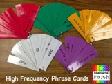 High Frequency Words & Phrase Cards