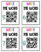 High Frequency Words QR Code Scavenger Hunt 1
