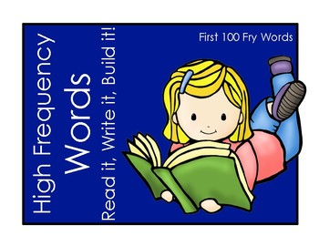 High Frequency Words: Read it, Write it, Build it