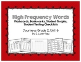 High Frequency Words Resources - Journeys, Grade 2, Unit 6