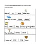 High Frequency Words Sentences