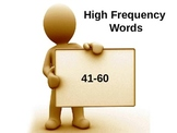 High Frequency Words Set #2- FREE!