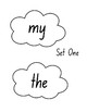 High Frequency Words Sets 1-5