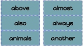 High Frequency Words Third Grade