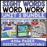 WORD WORK BUNDLE | UNIT 1