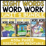 WORD WORK BUNDLE | UNIT 2