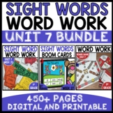 WORD WORK BUNDLE | UNIT 7