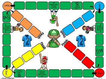 Word Work | UNIT 8 | Board Game | Center Activities