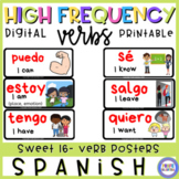 HIGH FREQUENCY VERB POSTERS FOR DISTANCE LEARNING IN 1ST PERSON
