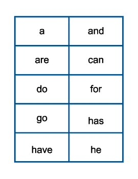 High Frequency Words-Wonders Reading Series-First Grade