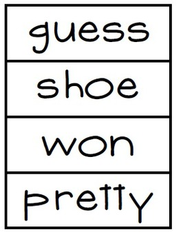 High Frequency Words- Word Wall Cards  Reading Street Unit 3