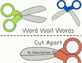 High Frequency Words- Word Wall Word Cut Apart