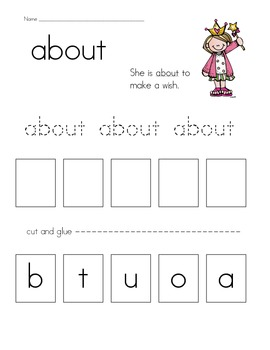 High Frequency/Sight Words and More
