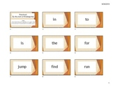 Set #1: High Frequency Words and Rubrics (updated to current texts)