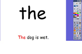 High Frequency Words and Simple Sentences