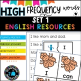 High Frequency Words and initial sounds.  Star Words Level 1