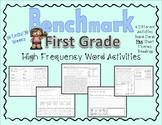 High Frequency Words for Benchmark Advance First Grade