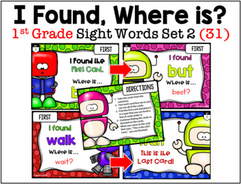 I Have, Who Has? Sight Words STATION ACTIVITY