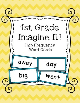 High Frequency Words for SRA Imagine It! Grade 1