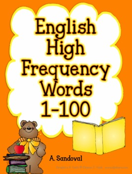 High Frequency Words in English