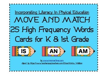 High Frequency Words in PE