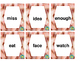 High Frequency Words in Spanish & English - Third Grade (Set D)