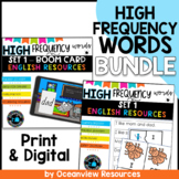 High Frequency words and Initial sounds level 1 BUNDLE