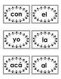 High Frequency words cards-Spanish kinder