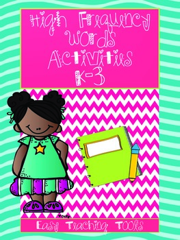 High Frequency/Sight Word Activities {15} to use tomorrow!
