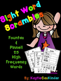 Sight Word Scrambles!