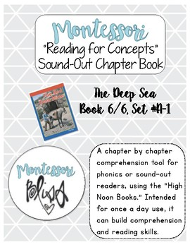"High Noon Books ""The Deep Sea"" Comprehension"