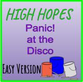 High Hopes - Bucket Drumming Arrangement