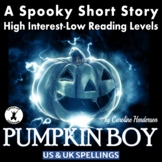 High Interest Low Ability Halloween Fiction for Older Readers
