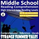 High Interest Low Ability Story and Comprehension for Stru