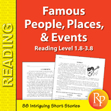 High-Interest / Low Readability: Famous People, Places, & Events